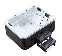 jacuzzi spa d 39 ext rieur san marino 3 places pas cher. Black Bedroom Furniture Sets. Home Design Ideas