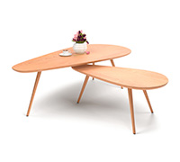 Table Duo  Style Scandinave - Bois