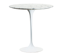 Coffee Table Tulip in marmo - Eero Saarinen style