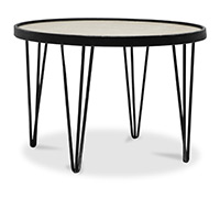Table basse ronde Hairpin
