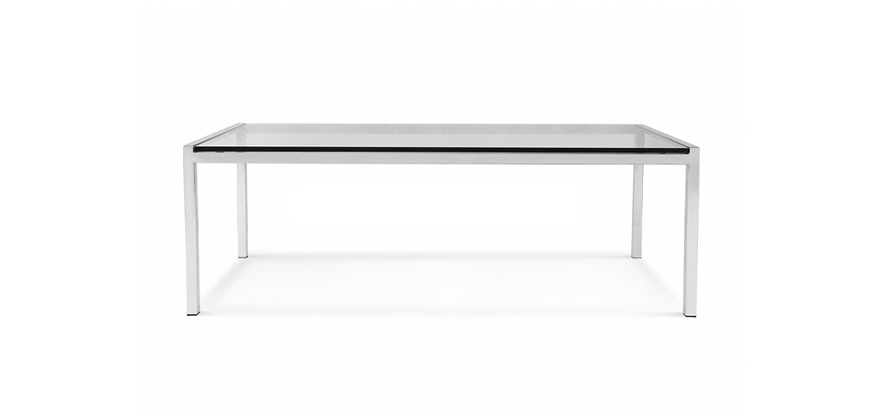Florence knoll table basse carree - Table carree pas cher ...