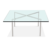 Table basse Barcelona - 15 mm - Inspiration Ludwig Mies van der Rohe