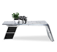 Aviator Airplane Wing Coffee Table Aluminium Coffee Tables