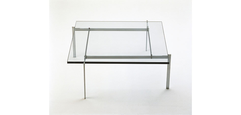 Table basse py61 carr e en verre 15 mm pas cher - Table en verre carree ...