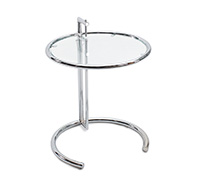 Table Adjustable E1027  Eileen Gray Style - Acier