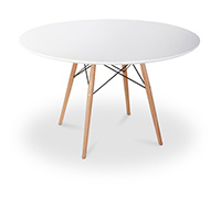 Table Geneva 100cm - Bois