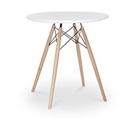 Table DSW 70cm Charles Eames Style - Bois