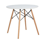 Table Geneva 80cm - Bois