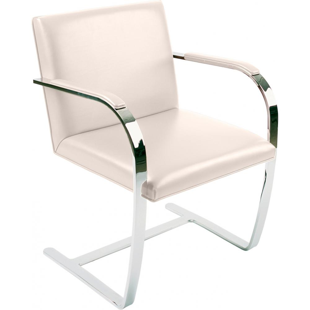 Chair Brno style Ludwig Mies van der Rohe - Classic Leather Ivory