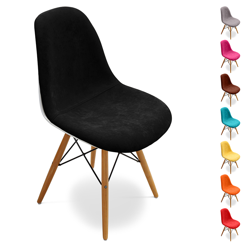 Salle blanche guide d 39 achat for Chaise eames tissu